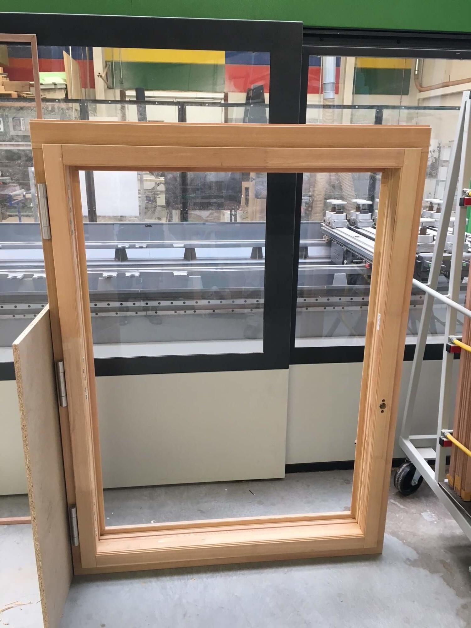 Brandschutzfenster F90 Produktion