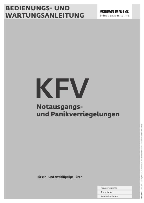 KFV Schloss Wartung und Pflege